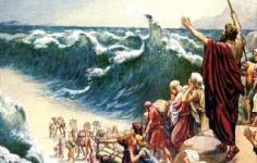 Moses Crossing Red Sea