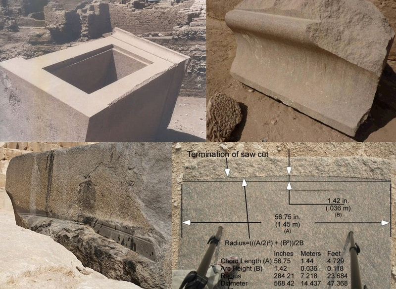 Additional examples of extreme masonry, from Giza and South America by Lee